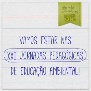 XXI jornadas educação ambiental portugal